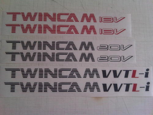 Other Decals Amp Emblems Toyota Twincam 16v 20v Vvtl I