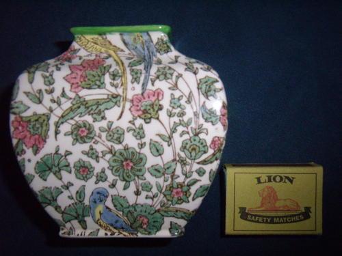 English Porcelain Royal Doulton Chintz Vintage Persian Vase No