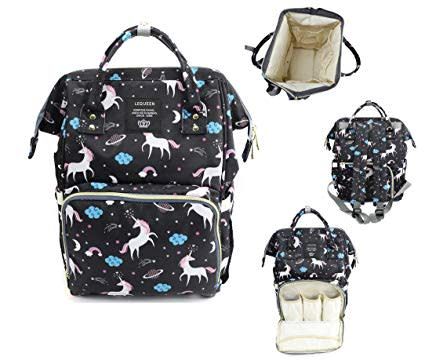 a85b2df6a275 Diaper Bag Unicorn Multi-Function Waterproof Travel Backpack Nappy Bags for  Baby. (BLACK AVAILABLE)