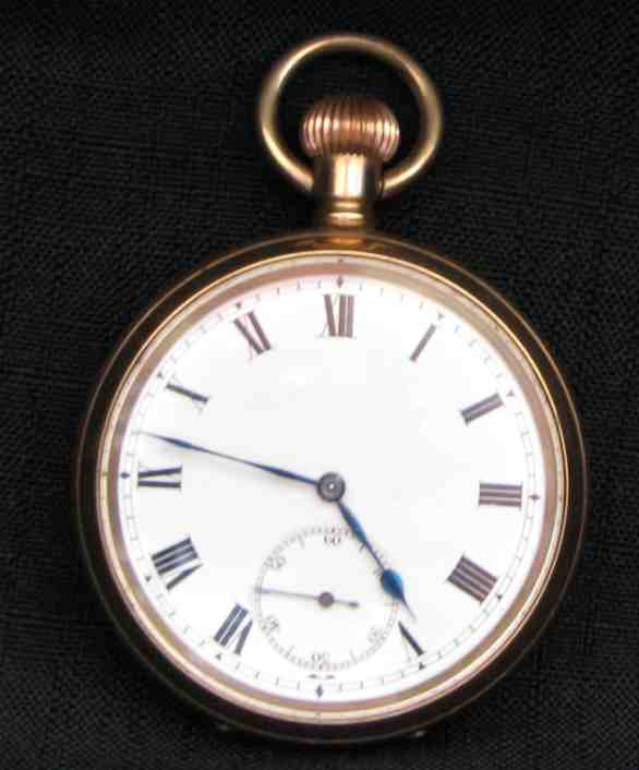 Pocket Watches Moeris Gold Filled Pocket Watch Swiss