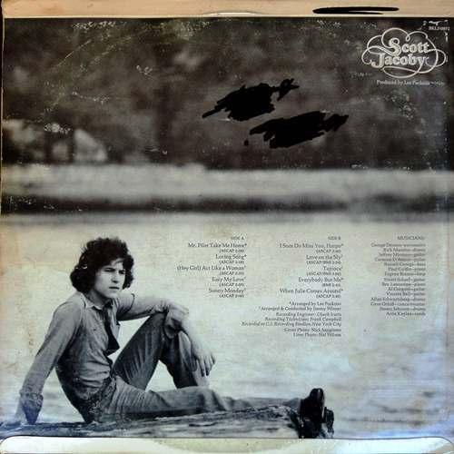 Pop Rock - Scott Jacoby - SCOTT JACOBY  Vinyl LP  (NM/VG