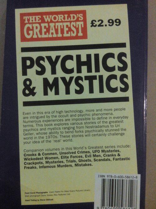 worlds greatest psychics and mystics