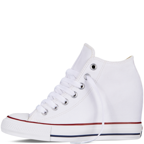 f357747348f The Chuck Taylor All Star Women s Lux has a hidden internal 2.44 inch wedge  to give your height a boost while assuming an unparalleled silhouette.
