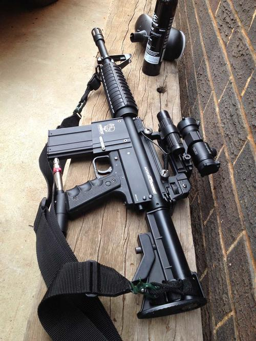 Markers & Guns - Warsensor WS66 Tactical Paintball Gun was listed