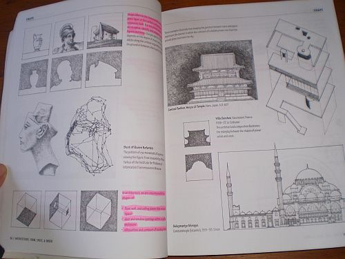 architecture & design - architecture: form, space and order