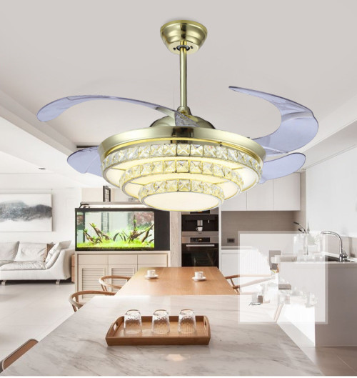 fan lights living room bedroom restaurant lights crystal ceiling fan