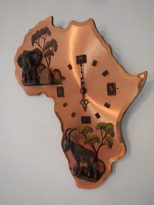 Other Artwork - Vintage Copper African clock, still made ...