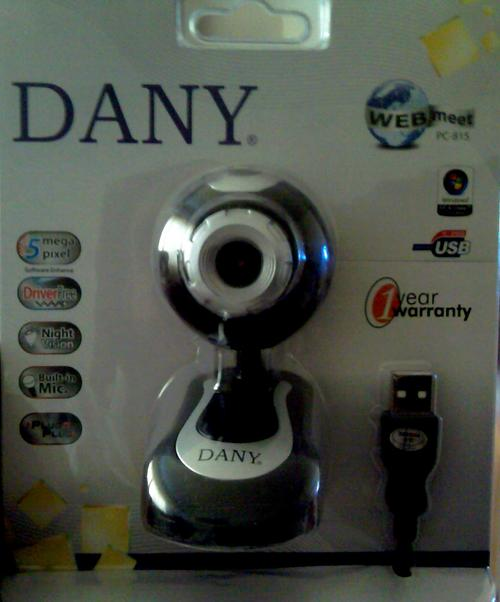 webcams webcam dany webmeet pc815 usb 5mp camera driver free plug and play was sold for. Black Bedroom Furniture Sets. Home Design Ideas