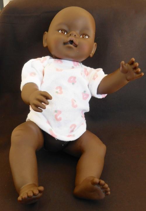 Dolls Black Baby Doll Same Size As Zapf Baby Born Doll