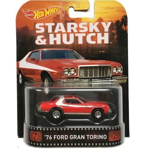 Starsky And Hutch Car: Hotwheels Hot Wheels Retro 2015 Entertainment