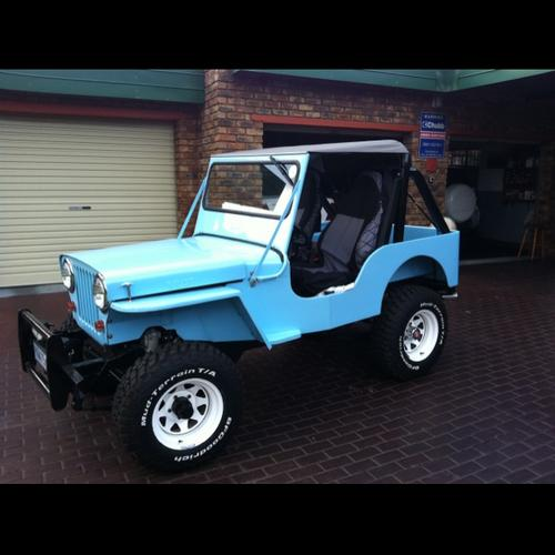 1948 Willys CJ2A Jeep Was Listed For R100,000.00 On