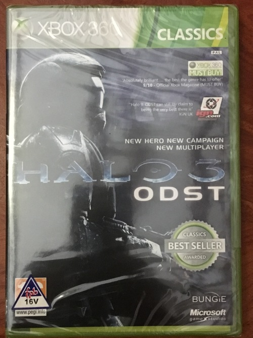 Games - FREE SHIPPING! XBOX 360 - Halo 3: ODST (Classics