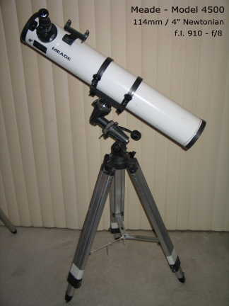 Telescopes Meade Telescopes Model 4500 Was Sold For R1