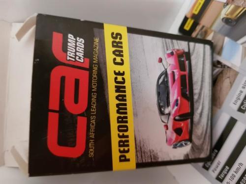 Car Magazine Performance Car Playing Cards