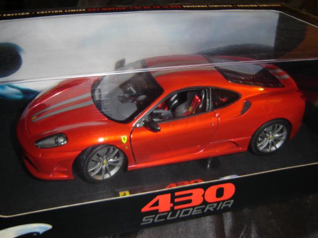 Models Hot Wheels Elite Ferrari F430 Coupe 1 18 Scale