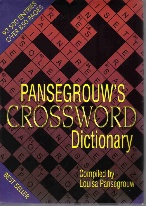 Reference Pansegrouw S Crossword Dictionary Louisa