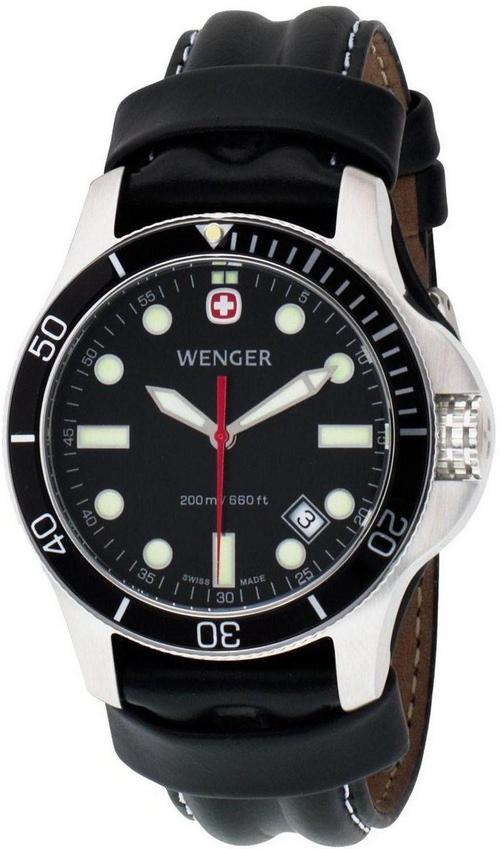 Men S Watches Wenger Swiss Military Battalion Diver Mens