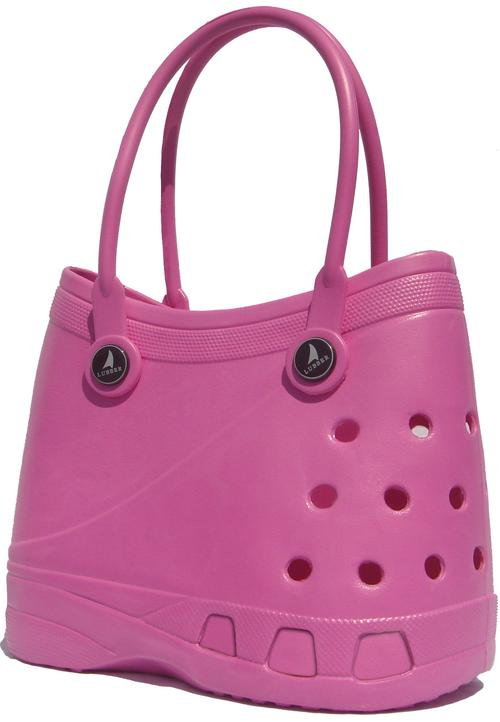 Handbags Amp Bags Lubber Tote Rubber Croc Waterproof Beach