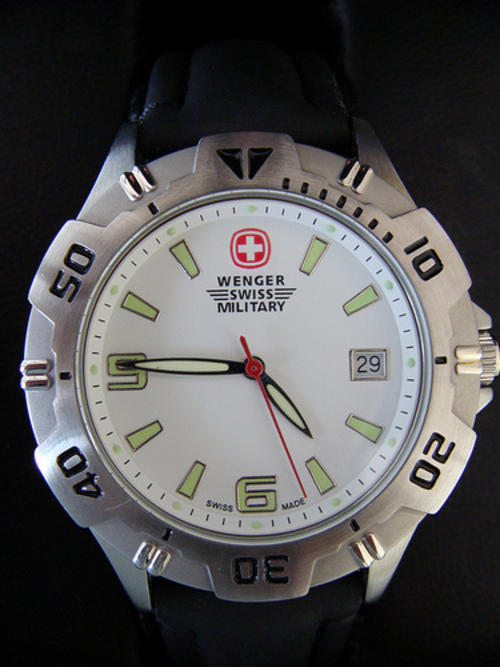 Men S Watches Wenger Swiss Made Military Mens Watch Was
