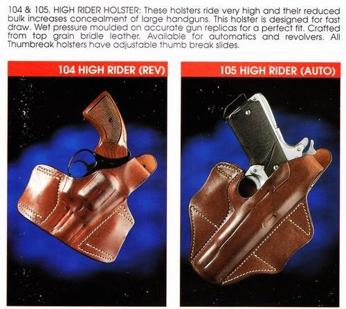 Other Firearm Parts & Accesories - El Paso Hi Rise Holster was sold