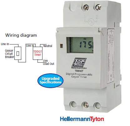 Electronic Components Digital Programmable Time Switch