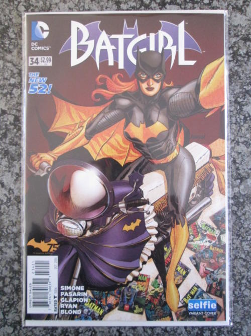 Comic Books Batgirl 34 Selfie Variant Nm 2014 Was Listed For