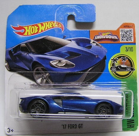 Hotwheels Hot Wheelscast Model Car  Ford Gt   Scale New