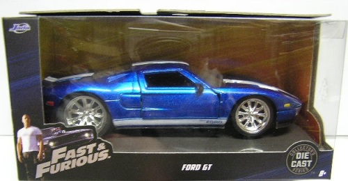 Jadacast Model Car Ford Gt Fast Furious Movie Film Tv   Scale New In Pack
