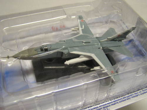 Russian Military Plane Diecast Model Collection Sukhoi SU 24 SU24 1/100  scale new in pack