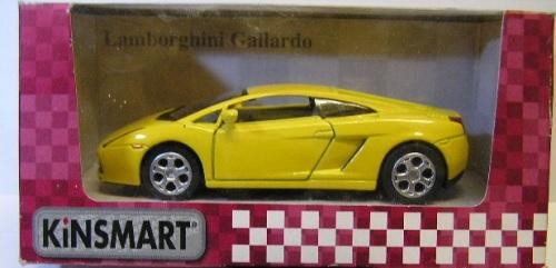 Kinsmart Diecast Model Car Lamborghini Gallardo 1/36 scale new in pack