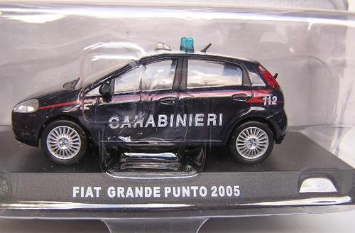 Models Deagostini Italian Military Police Diecast Model Car