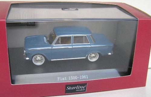 Models Starline Diecast Model Car 530132 Fiat 1500 1961 143 Scale