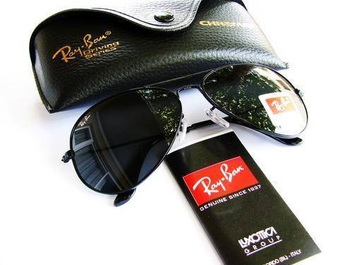 1268bf0fb6 Sunglasses - Ray Ban Aviators RB3026 Black Frame Black Lenses 62-14 ...