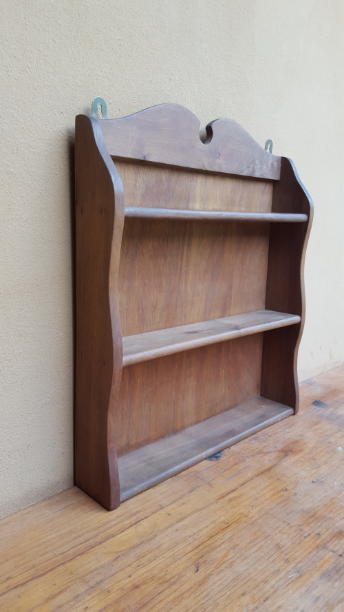 Other Kitchenalia Lovely Old Wooden Spice Rack Was Listed For