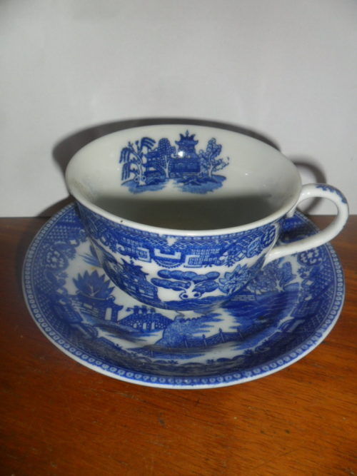Cup and Saucer Duo - Made in Occupied Japan