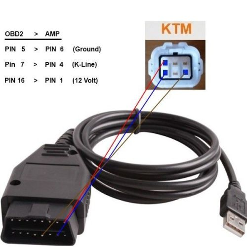 Other Diagnostic Tools Obd Diagnostic Cable Scan Tool For Triumph