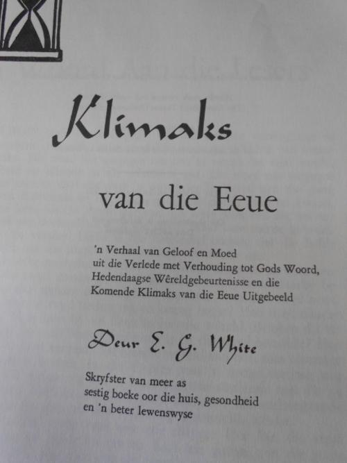 catalogues references guides klimaks van die eeue was sold