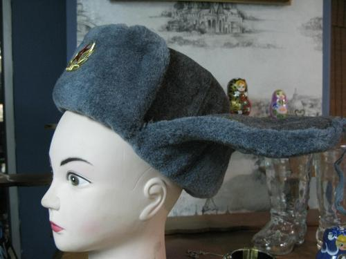 beba6b1a9d2 Genuine Russian Infantry Hat with original USSR Army badge on it. Best  friend in cold winter. Size  58