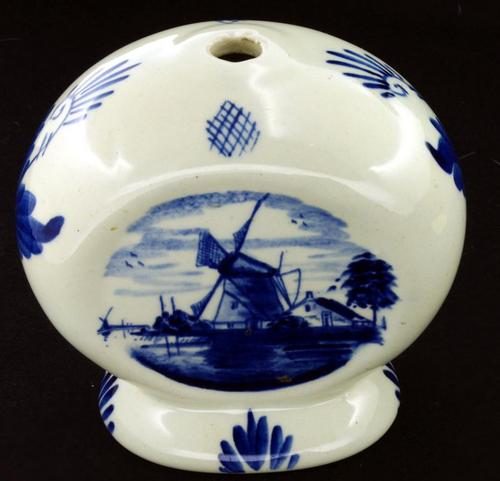 Dutch Porcelain Charming Small Delft Vase Was Sold For R5500 On