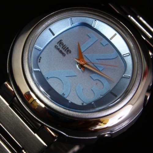 Womens watches genuine casio watch new but selling as authentic casio felite watch fandeluxe Gallery