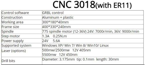 Other Electronics - CNC Engraver Router Machine 3018 - GRBL