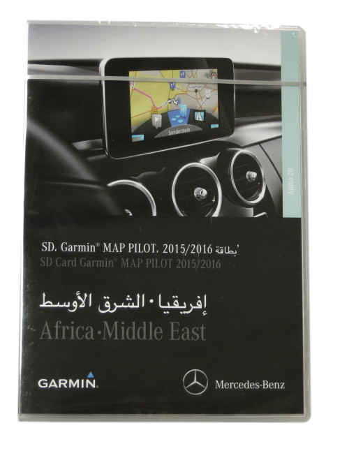 A213 Africa - Mercedes-Benz SD Garmin MAP PILOT 15/16 Middle East  A2139062904