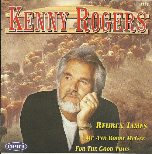 Other Music Cds Kenny Rogers Reuben James Cd Was