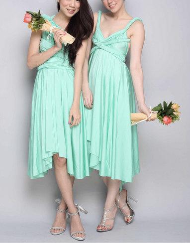 Bridesmaids\' Dresses - Bridesmaids Infinity Dresses. SHORT. FREE ...