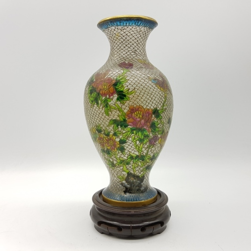 Oriental Rare Antique Highly Decorative Chinese Enameled Glass
