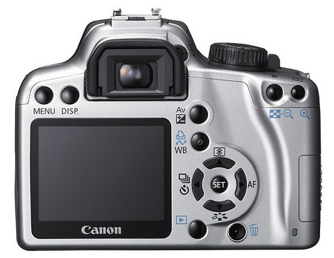 Canon XSi 450D 18-55mm iS (Silver) - Free delivery