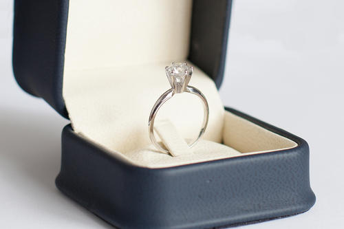 Engagement Rings 1 00 Ct F I3 Round Brilliant Cut Solitaire