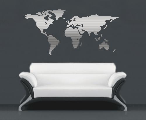 Wall decals world map lines vinyl decals wall art stickers for wall decals world map lines vinyl decals wall art stickers for sale in durban id364411867 gumiabroncs Image collections
