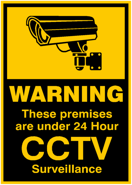 Personal Security - CCTV signs (Pack of 4) was listed for