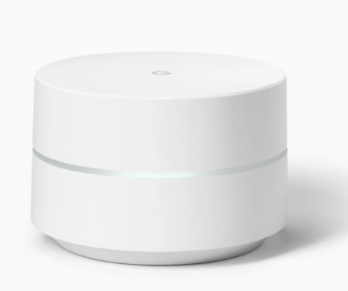 Wireless Routers - Google Wifi - 1 Pack (Covers 1500 sq ft